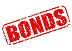 BONDS red stamp text on white
