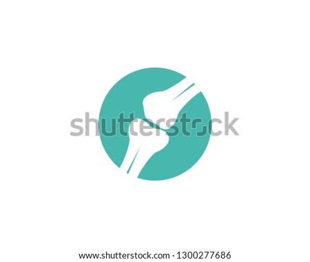 Bone logo vector template stock photo