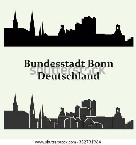 bonn  germany   bundesstadt