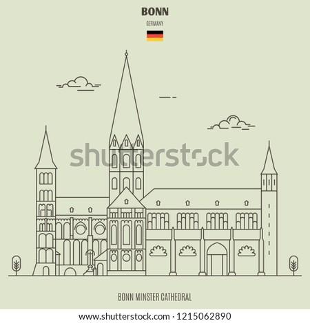bonn minster cathedral in bonn