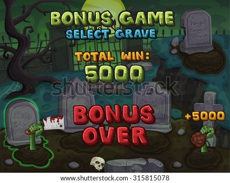 bonus game for zombie slots