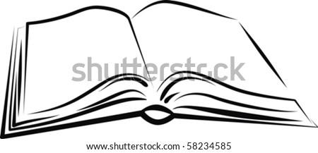 book - stock vector
