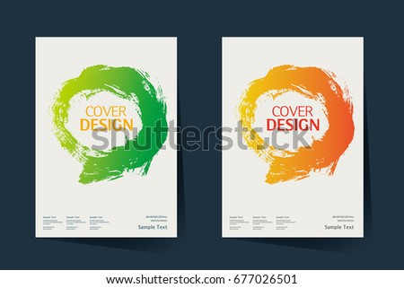 book cover annual report design layout brochure catalog business