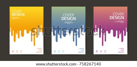 Book cover, Annual report design layout. Brochure, catalog. Business vector template. Simple pattern. Flyer promotion. magazine, Presentation cover. Abstract Vector illustration.