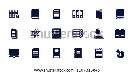 book icon collection of 18