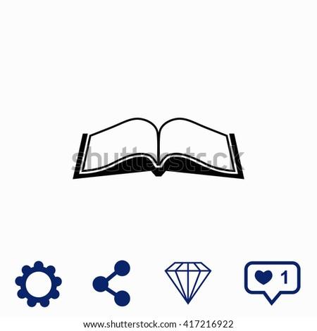 book icon universal icon to