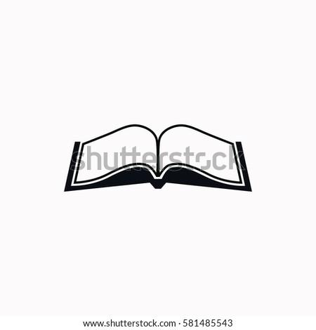 book  icon vector design