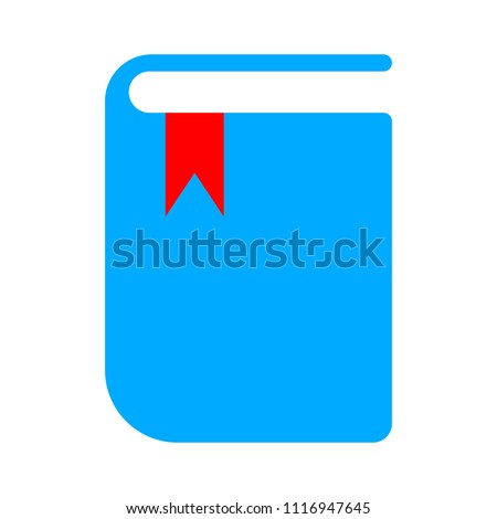 book icon, vector education book - book library, education icon