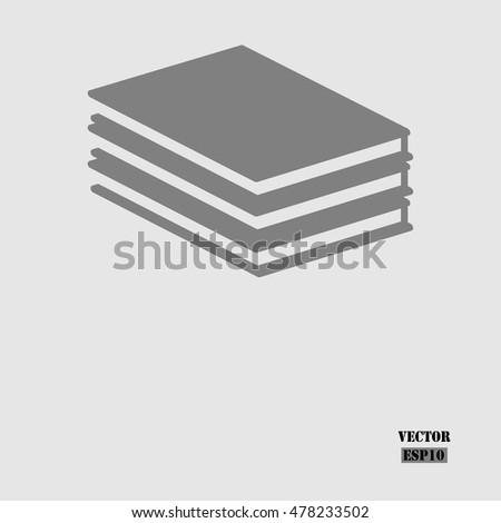 Book icon. Vector education Icon