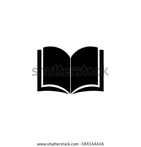 Book icon vector illustration on white background