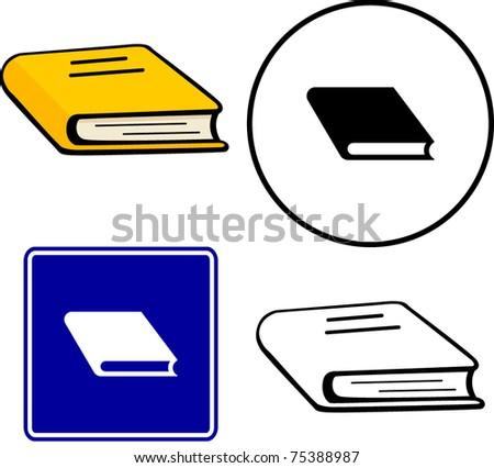 book illustration, sign and symbol