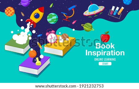 book inspiration  back to