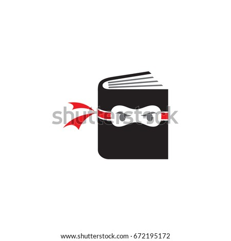 book ninja logo