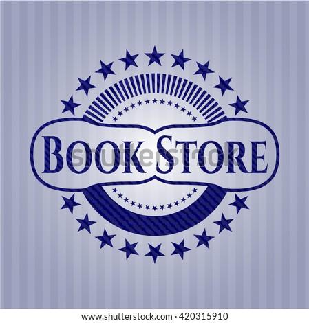 Book Store denim background