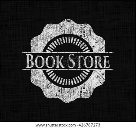 Book Store on chalkboard
