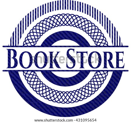 Book Store with jean texture