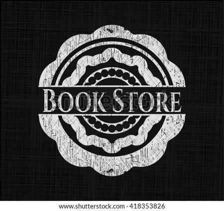 Book Store written on a chalkboard