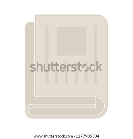 book text-lines icon- book text-lines isolated, textbook illustration - Vector education