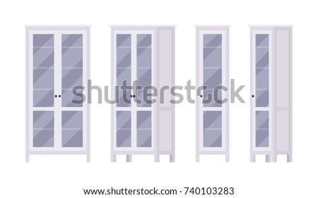 bookcase in white stylish