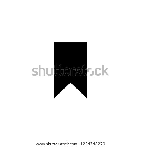 bookmark icon vector. bookmark vector graphic illustration