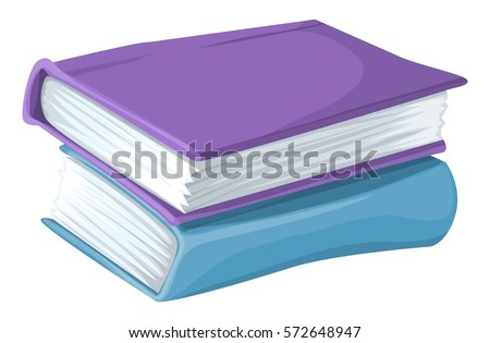 Books cartoon illustration #572648947