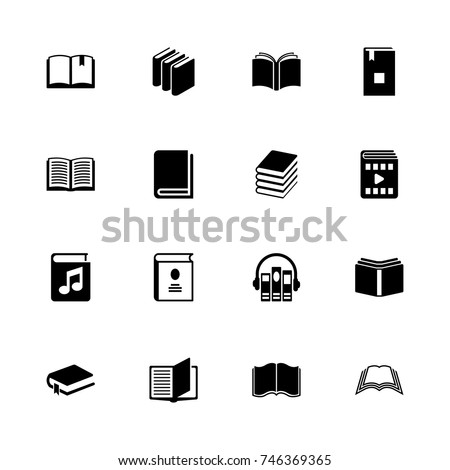 books icons   expand to any