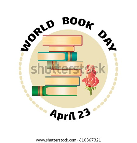 books  rose and text word book