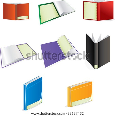 Books with blank places