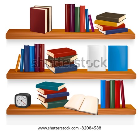 Colorful Stack of Books Vector - Download Free Vector Art, Stock ...