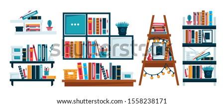 bookshelves for study room or