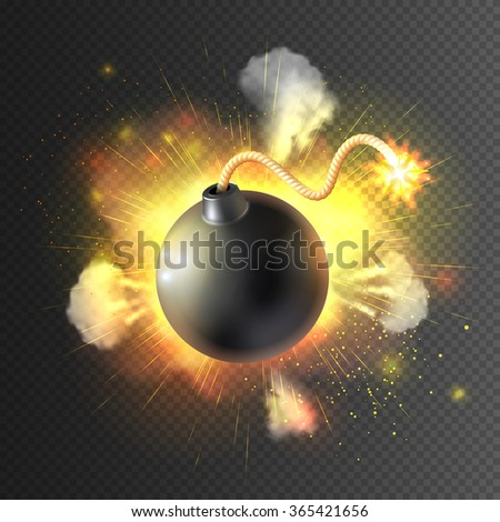 boom little round bomb