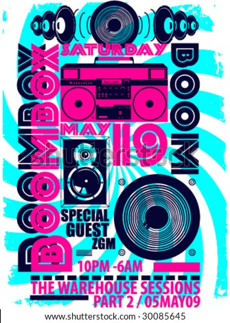 BOOMBOX / Music Design ARTWORK
