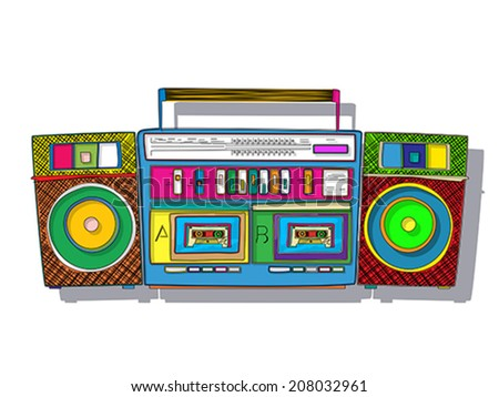 boomboxes download free vector art stock graphics images rh vecteezy com old boombox vector boombox vector icon