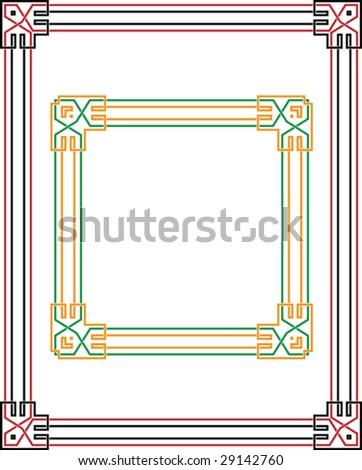 Border, Frame Design