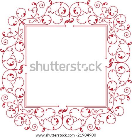 Border, Frame Designs Stock Vector Illustration 21904900 ...  Shutterstock Border Design Free Download