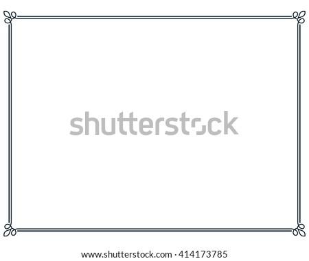 Page Border Line Vectors - Download Free Vector Art, Stock Graphics ...