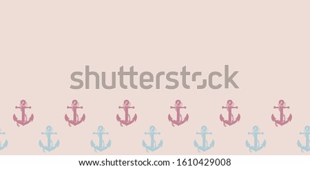 border vector pattern with pink