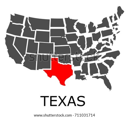 Free Texas Map Vector Download Free Vector Art Stock Graphics - Texas map usa