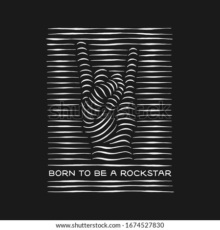 born to be a rockstar rock
