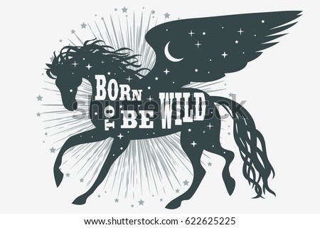 born to be wild horse