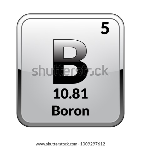 Bromine Symbolemical Element Of The Periodic Table On A Glossy