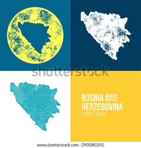 bosnia and herzegovina grunge