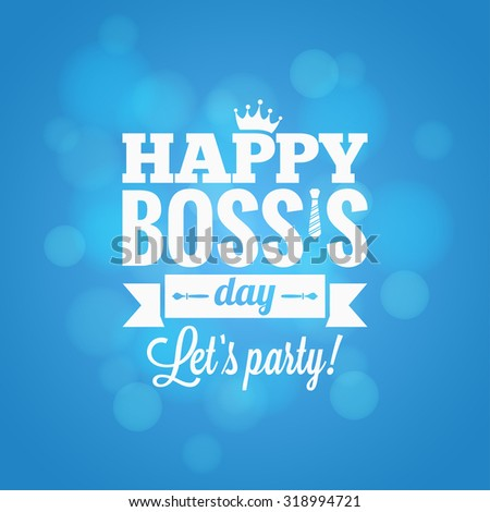 boss day party card design