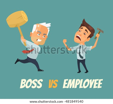 boss vs worker characters