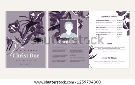 botanical memorial and funeral