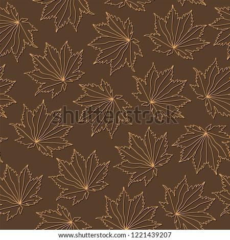 botanical vector seamless