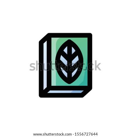 botany Icon , Biology Logo, Education & School Symbol .