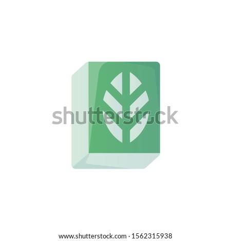 Botany Icon, Biology Logo, Education & School Symbol .