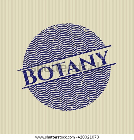 Botany rubber grunge texture stamp