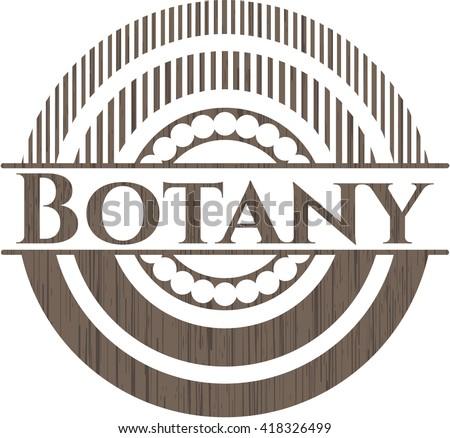 Botany wood emblem